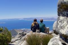 Uitzicht Kaapstad.