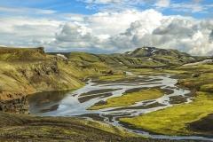 Landmannalaugar IJsland.